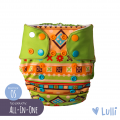 Pielucha wielorazowa, AIO (All-In-One) OS, Lis, Lulli
