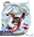 Pielucha wielorazowa, AIO (All-In-One) OS, Jelonek, Lulli